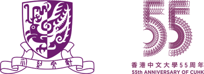 purple logo with emblem